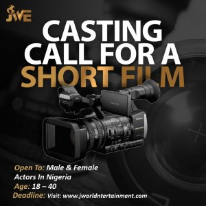 casting audition for an horror movie in lagos